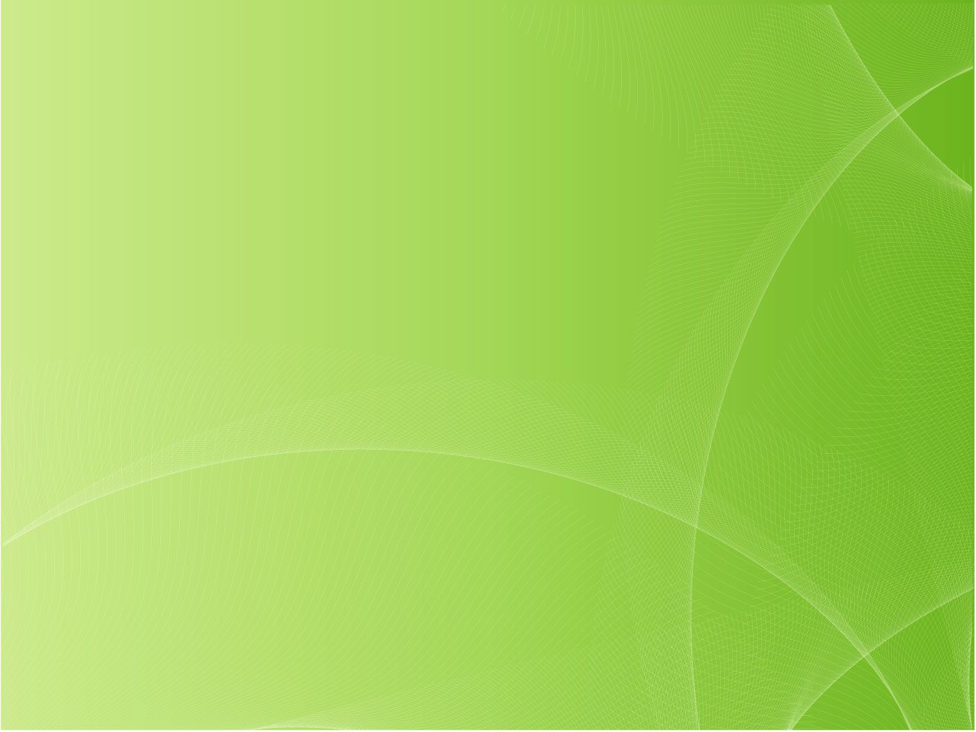 Green Abstract Vector Background Lines White Swooshes