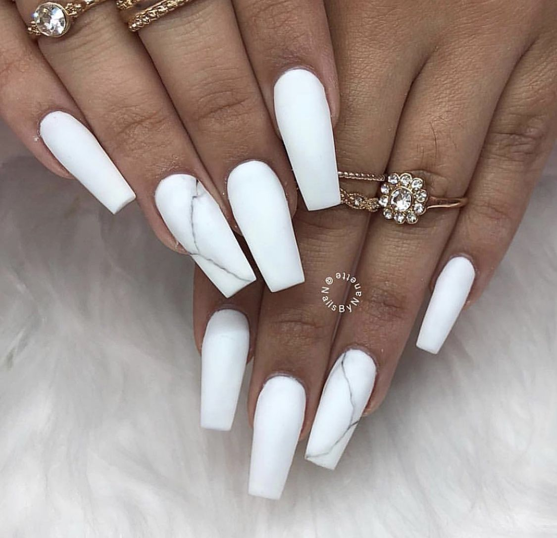 25 Marble Nail Art Design Useful For Everyone   vialaven.com ...