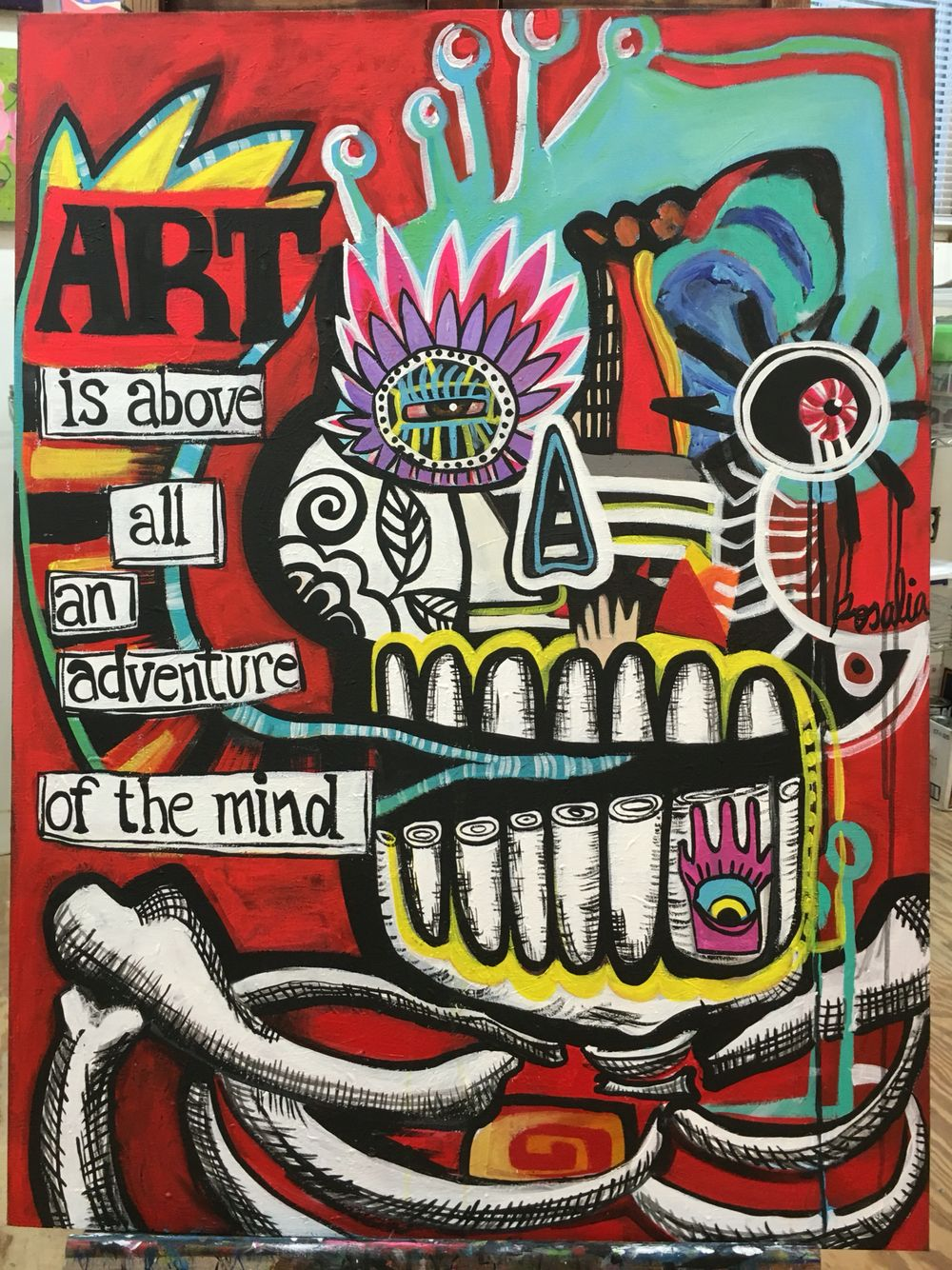 """Art is above all an adventure of the mind"""
