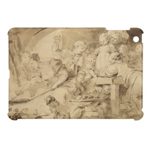Pancake Maker Jean-Honore Fragonard Cover For The iPad Mini | Zazzle.com #pancakemaker The Pancake Maker by Jean-Honore Fragonard iPad Mini Cases #pancakemaker