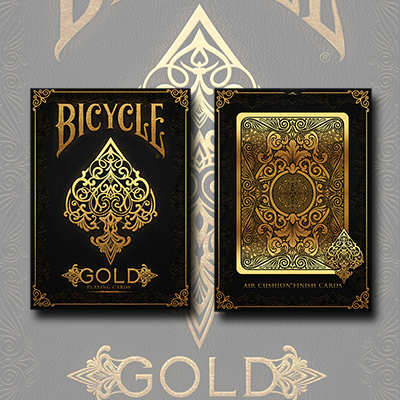 Bicycle Gold Playing Cards Review 5 Stars with a Stone