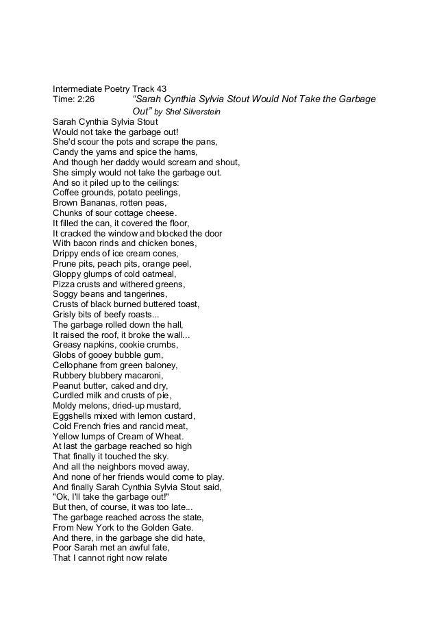Childrens Poetry Shel Silverstein Google Search Poetryrhymes