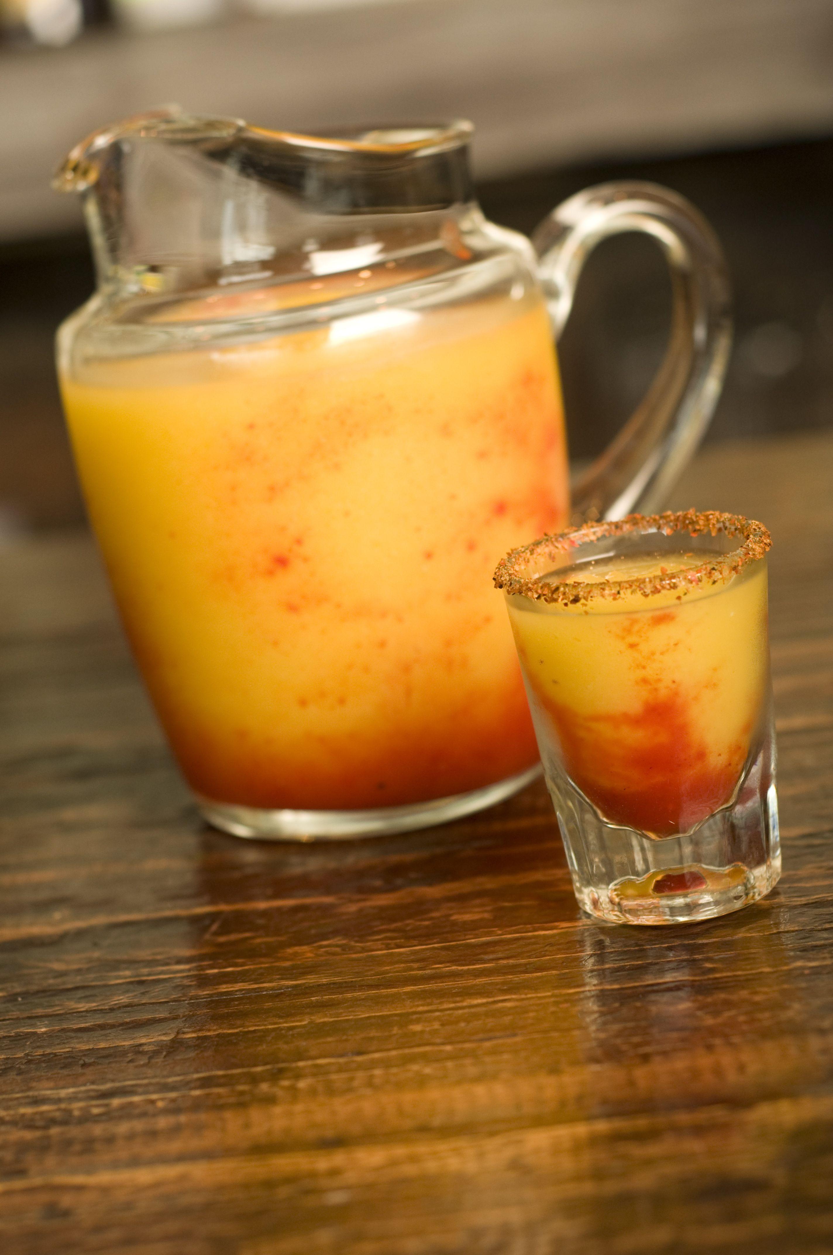 Shots Baby mango La Cervecera de Barrio Monterrey