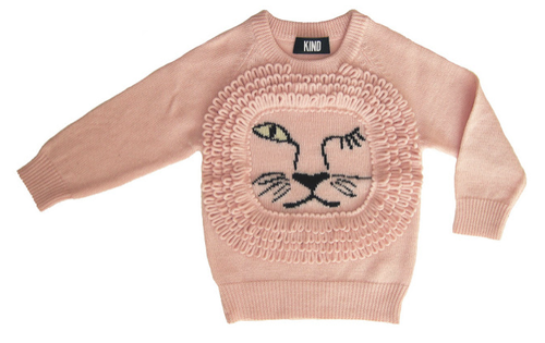 Lion Face sweater by KIND