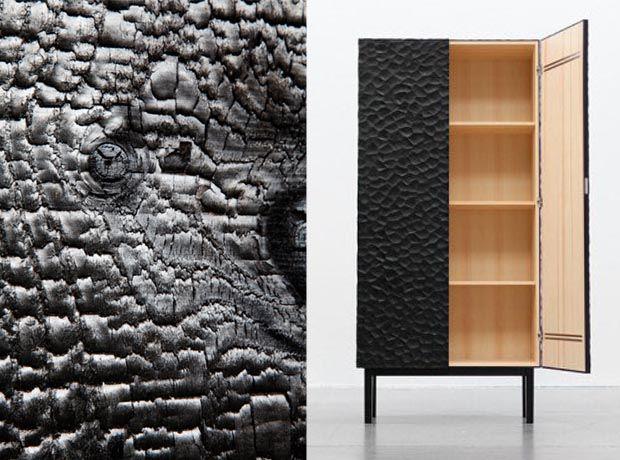 la technique shou sugi ban ou bois br l am nagements int rieurs pinterest madera. Black Bedroom Furniture Sets. Home Design Ideas