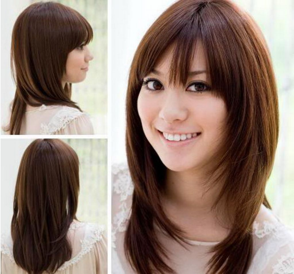 Korean Shoulder Length Hairstyles 2019 Hair Styles Medium Length Hair Styles Medium Long Haircuts