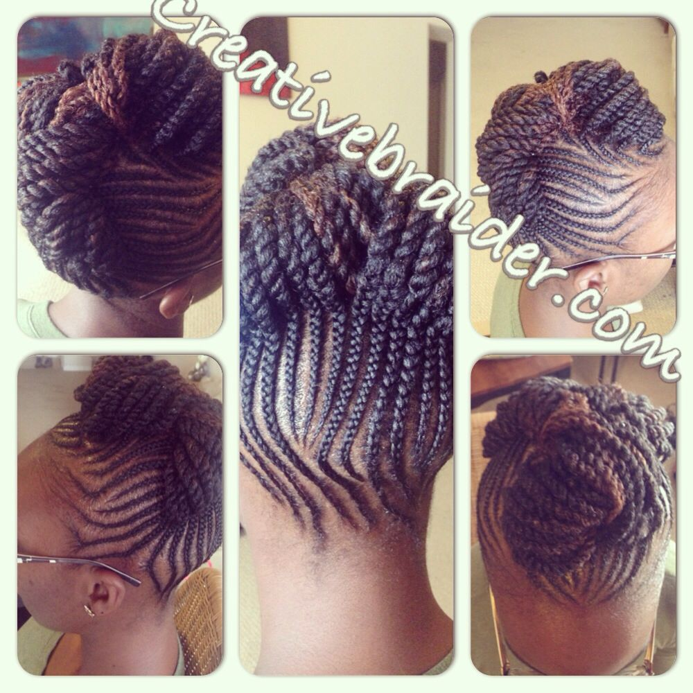 My Work Braids Naturalhair Cornrows Updo Pinup Protectivestyles Hair Teamnatural Natural Hair Styles Braided Hairstyles Hair Twist Curls