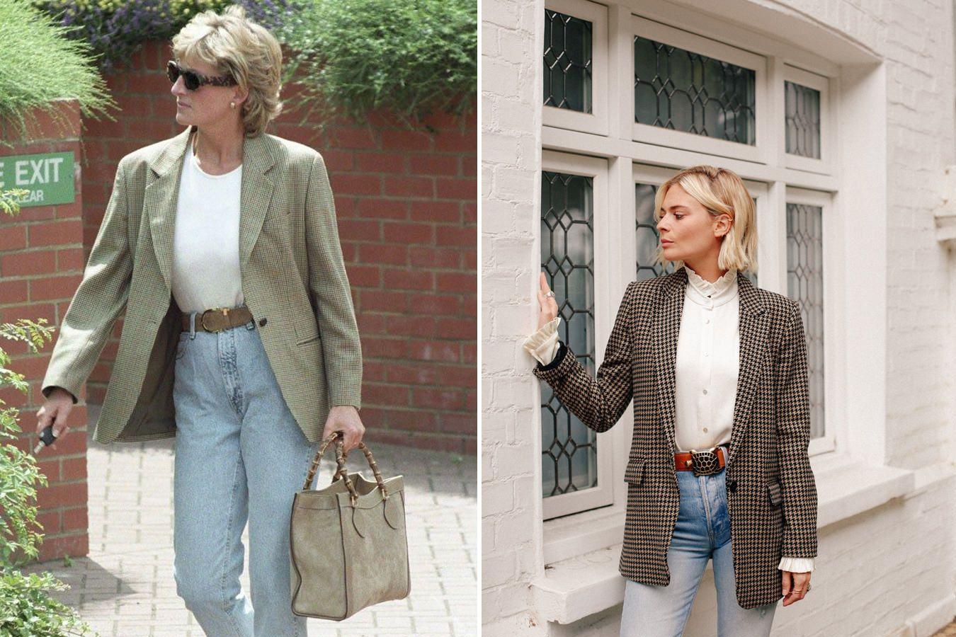 Re Imagining Princess Diana S Style Mens Street Style Fashion