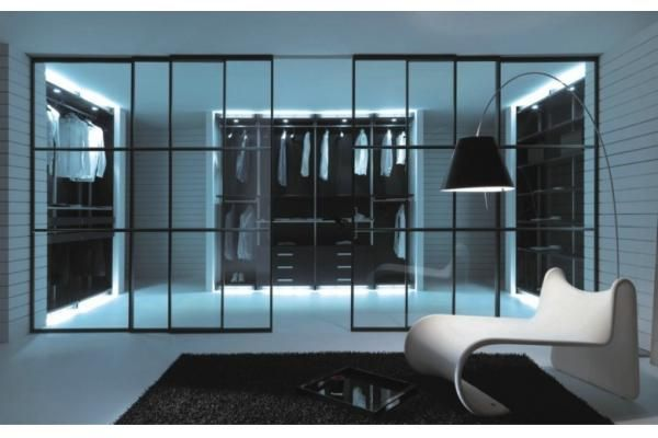 aluminum partition sliding door with decorative glass, interior