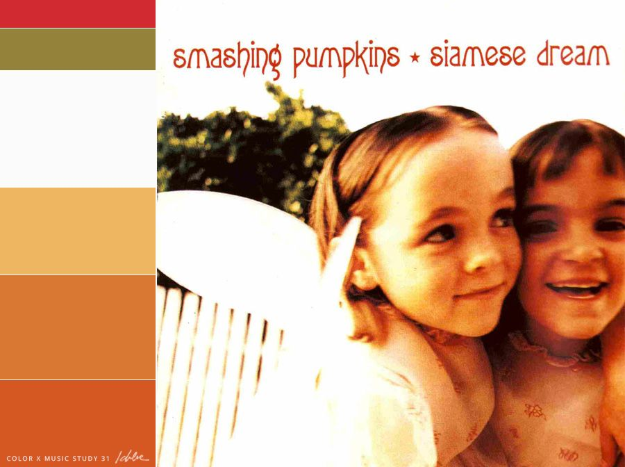 Photo of A color palette based off of the Siamese Dream (by Smashing …