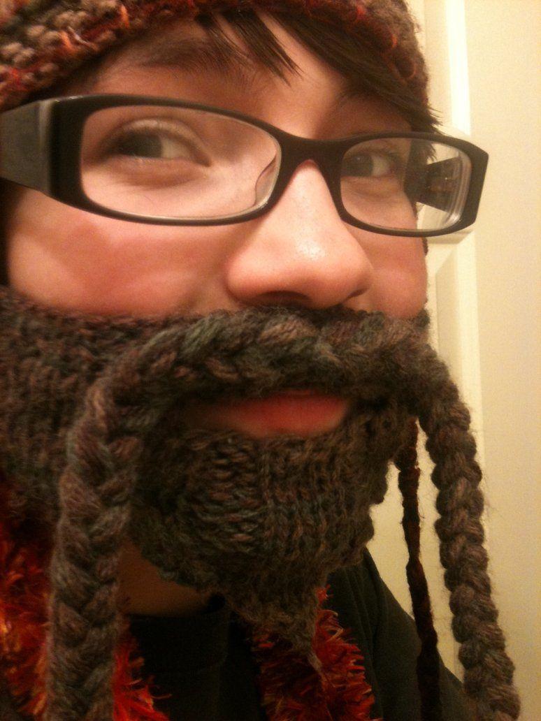 knitted beard | Knitted beard, Beard, Knitted