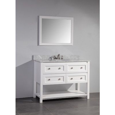 Stufurhome Hd 6868 48 Cr Marla 48 Inch Single Sink Bathroom Vanity