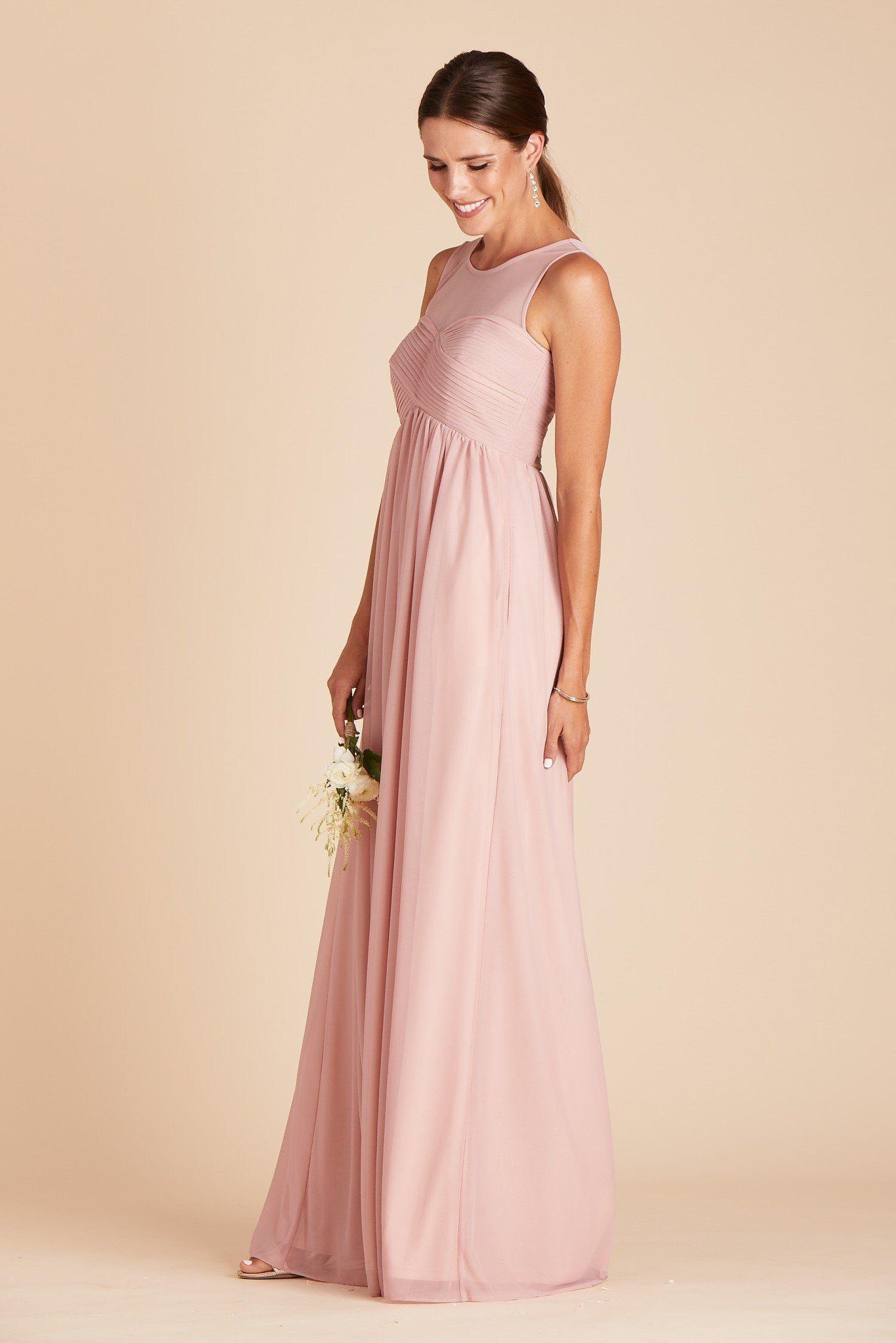 Ryan Dress Rose Quartz in 2020 Bridesmaid dresses