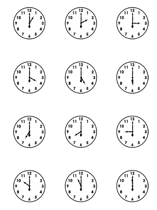 Free Download Of Clocks From Scrapbooks Etc Cards