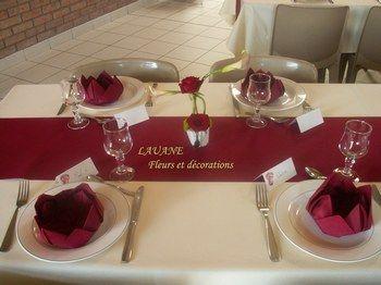 Decoration De Table Bordeaux