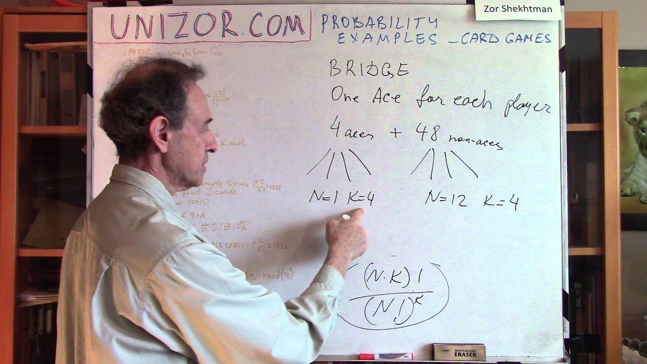 Unizor Probability Examples Card GamesCard envoi