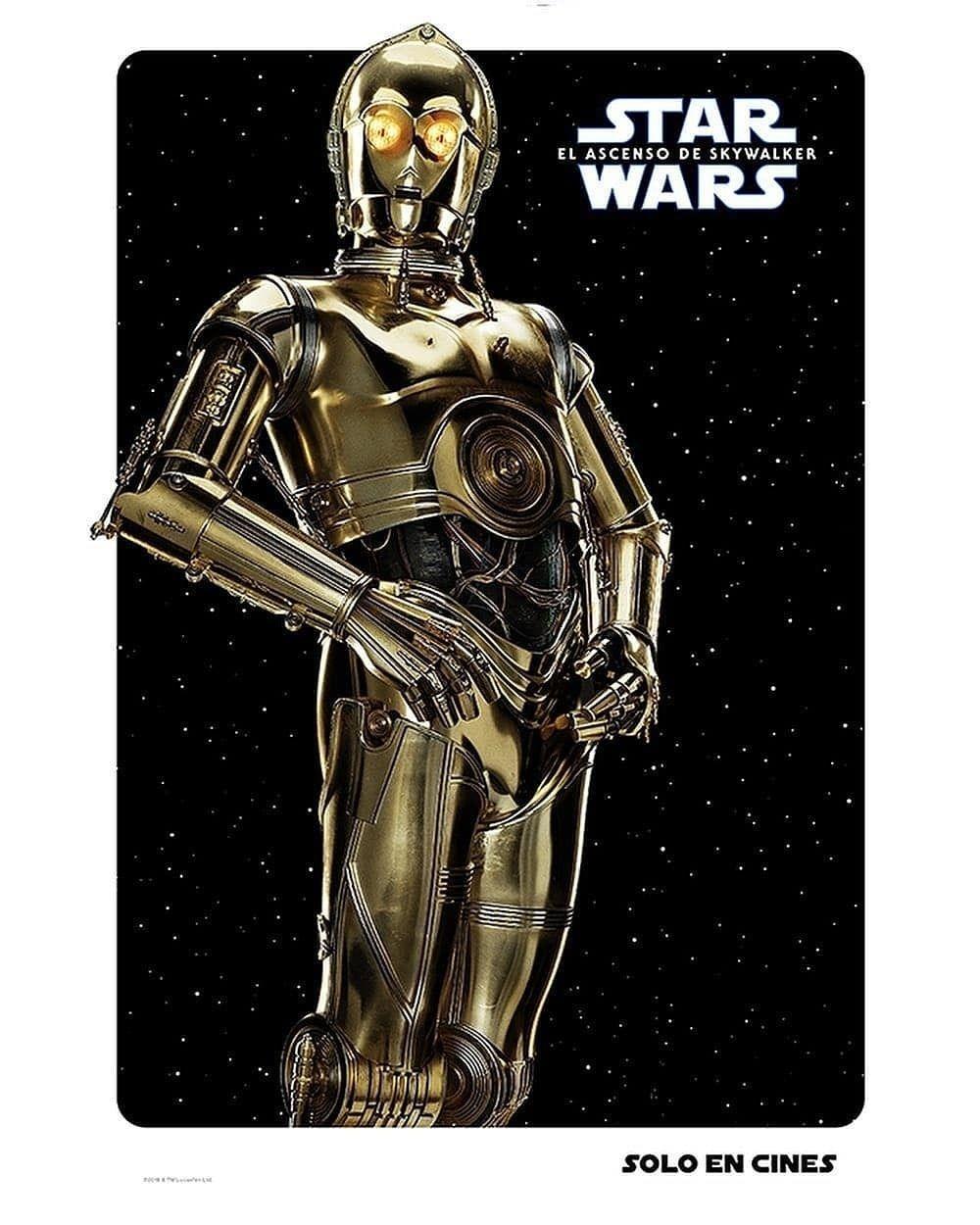 Star Wars El Ascenso De Skywalker Posters De Personajes Star Wars Solo En Cines Noticias De Cine