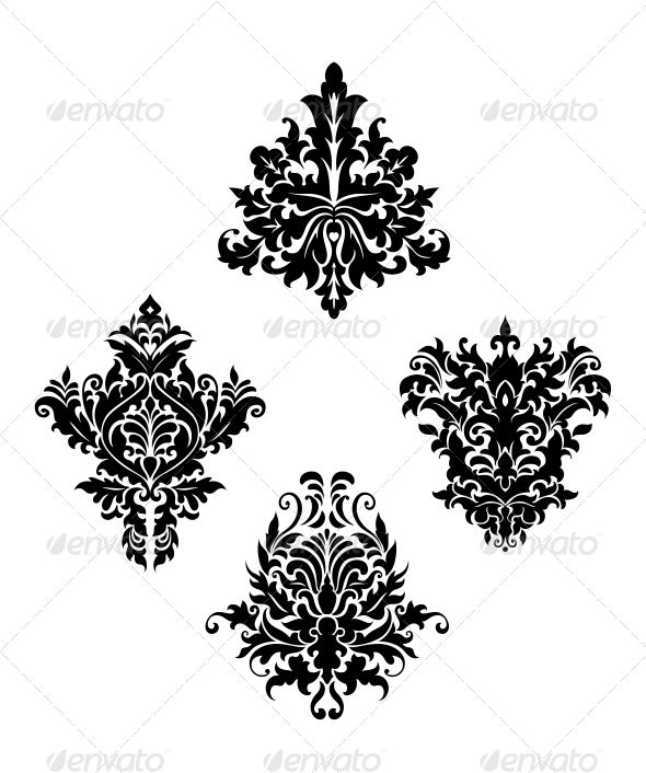 Pin By Pethodislereaal On Vector Patterns Vintage Floral Floral