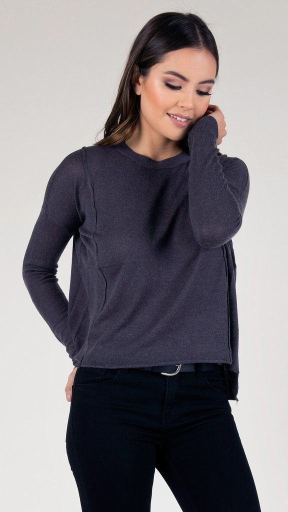 Basic Knitted Roundneck Sweater