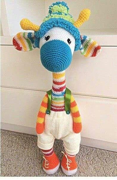 Jirafa de bebé con descarga instantánea de CrochetBow ganchillo ... | 604x393