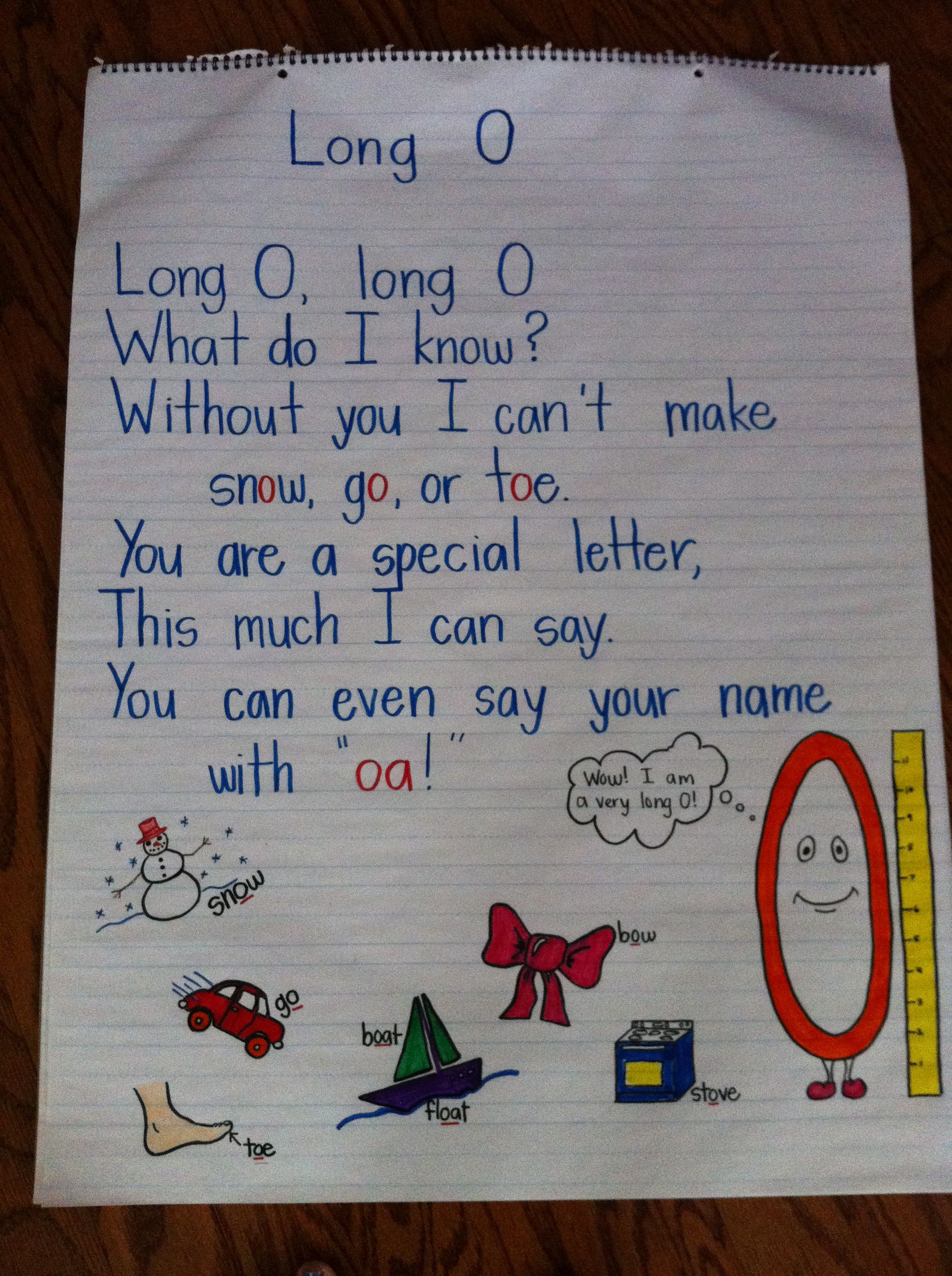 long O poem May have my kids
