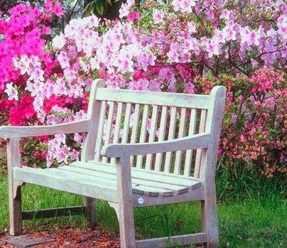 Garden wedding ideas the love garden planting for Flower bench ideas