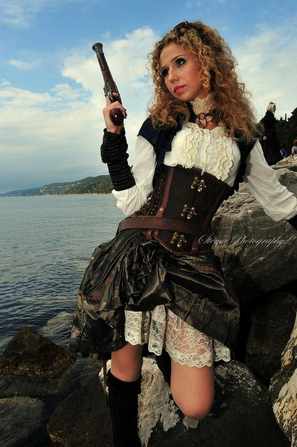 Women Steampunk Pirate | Go Back > Gallery For > Steampunk ...