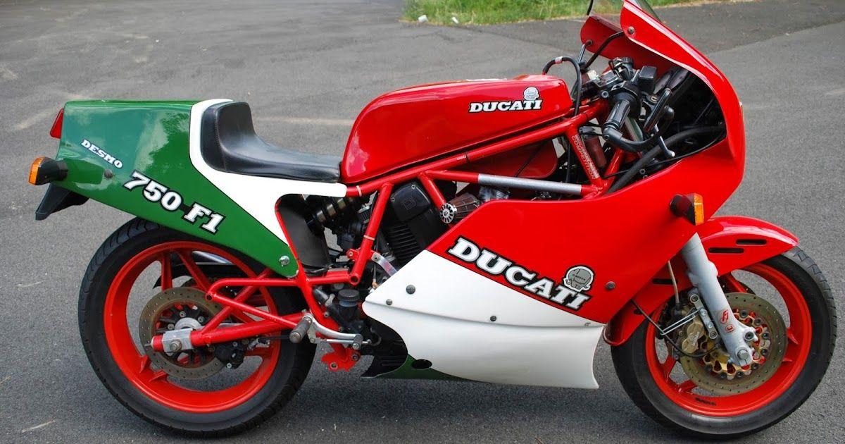 1986 Ducati 750 F1b Tricolore Original Unmolested Third Owner