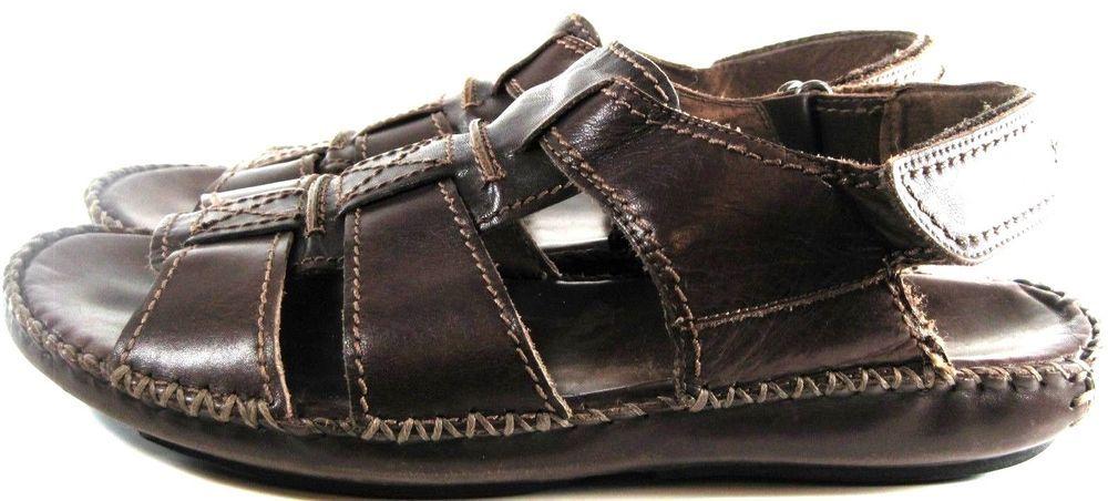Florsheim Men Leather Sandals Size 9.5