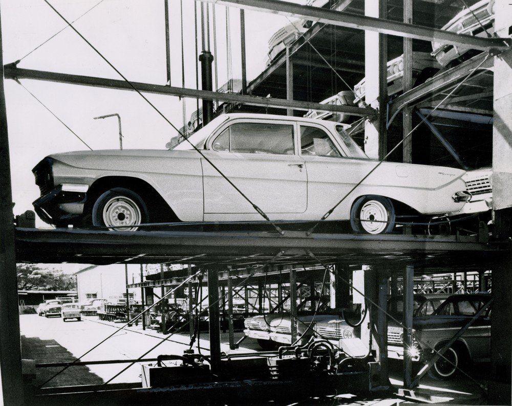 1962 Aloha Motors Chevrolet Oldsmobile Dealership Honolulu