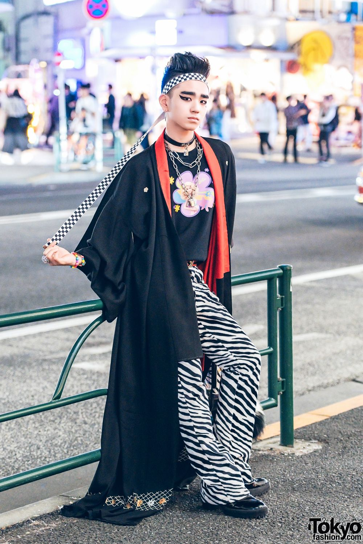 11cada5a616 Japanese Streetwear w  Kimono Coat