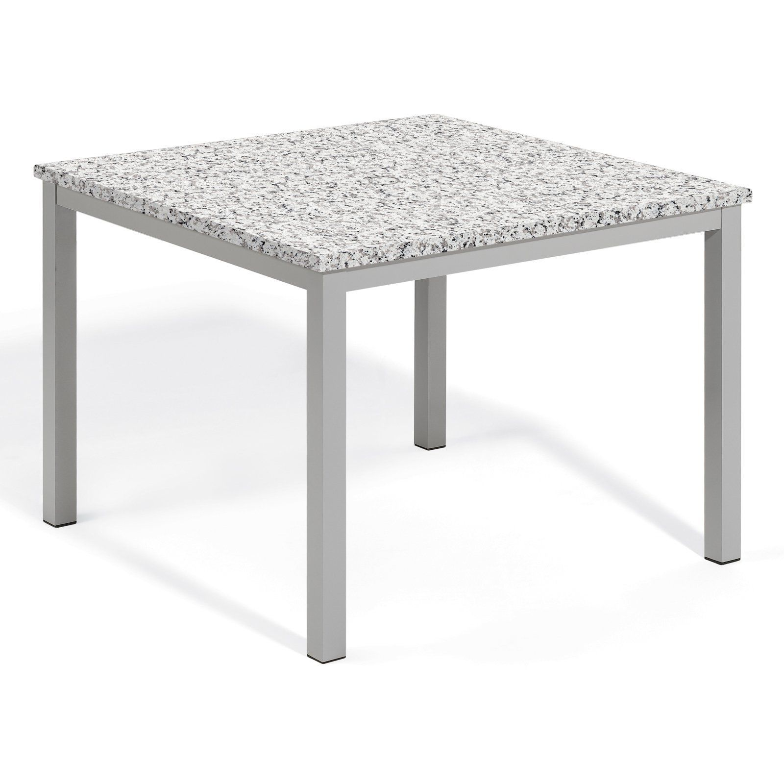 Outdoor Oxford Garden Travira 39 in. Lite-Core Square Patio Dining Table - TV39TAH