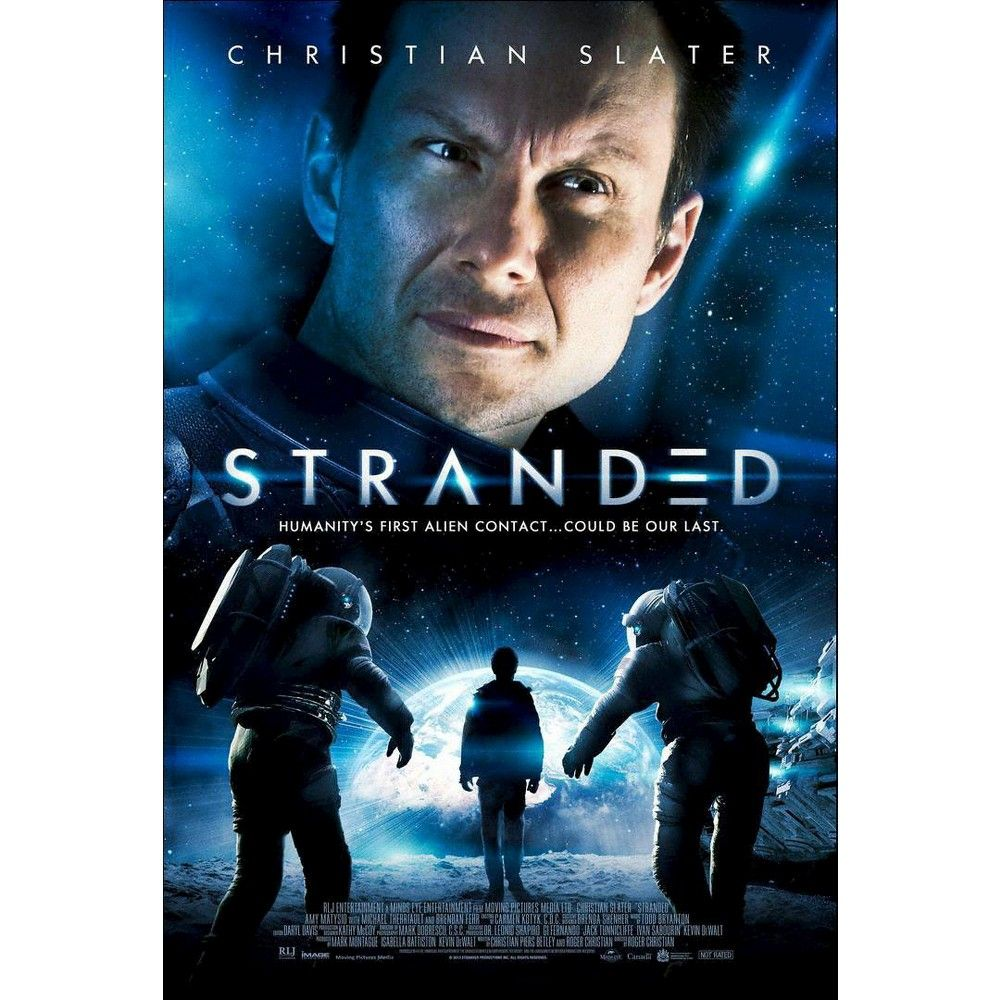 Stranded Blu Ray 2013 In 2021 Christian Slater Movies Sci Fi Movies