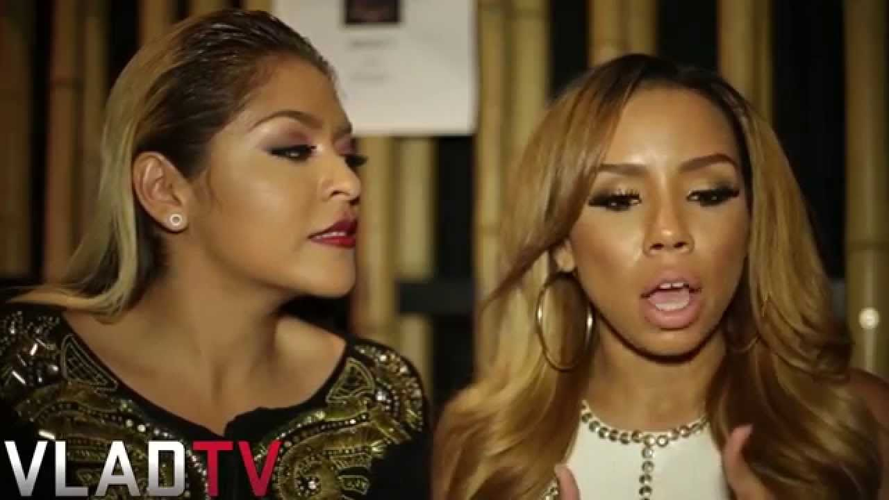 Morgan Hardman on the right (director, reality tv personality on Love and Hip Hop Hollywood) born on February 1, 1985