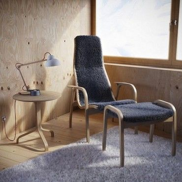 Lamino Chair/footstool By Swedese. Widely Regarded As The Most Comfortable  Easy Chair Out