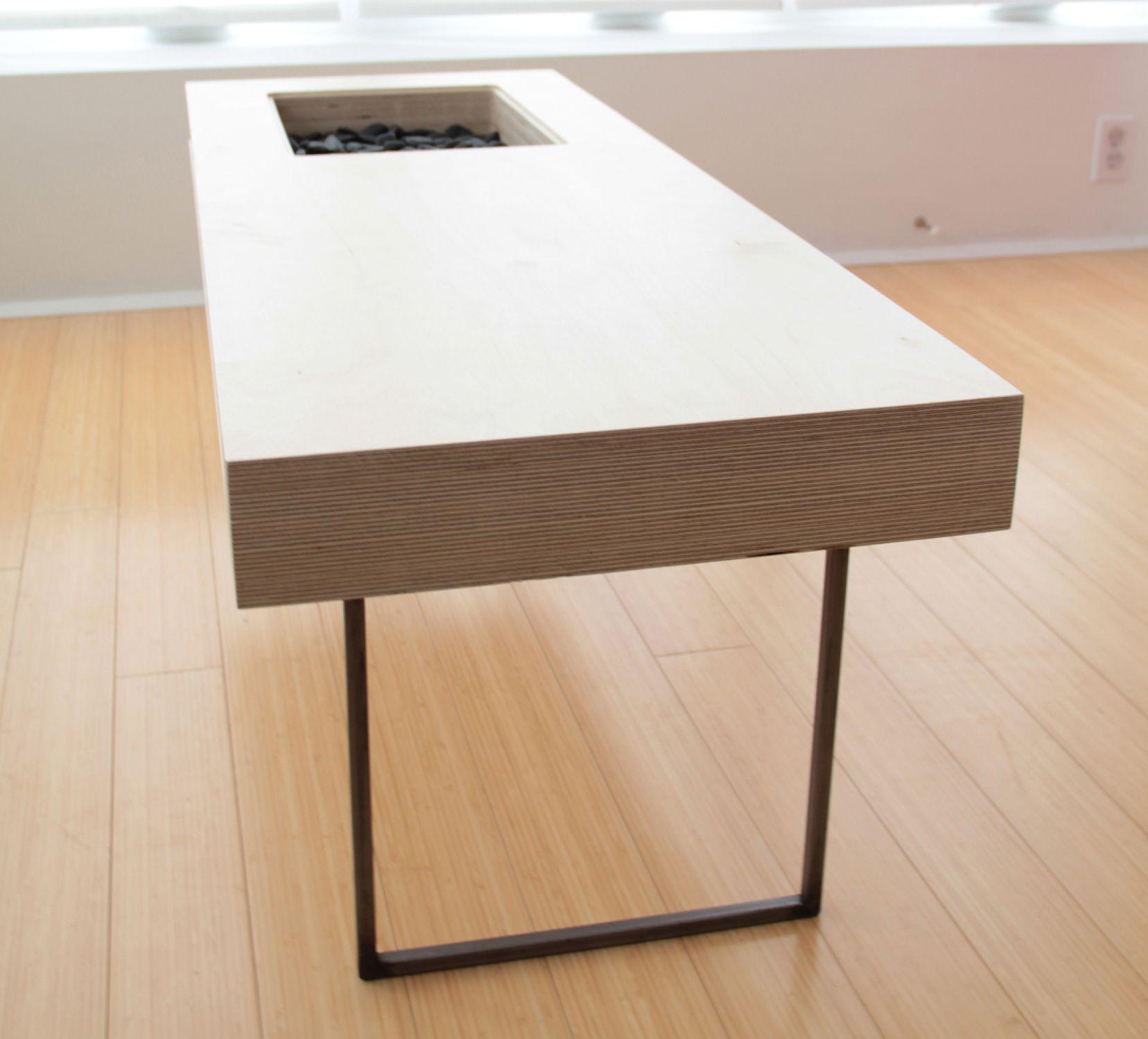 Craft Design » VOLUME Coffee Table. Plywood ...