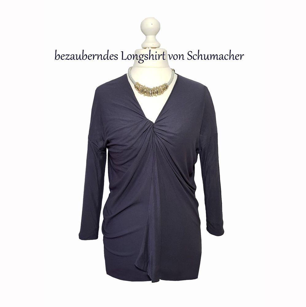 Schumacher Longshirt Gr S 36 38 (2) Shirt Pulli violett lila Damen Oberteil  K12 16f35b903d