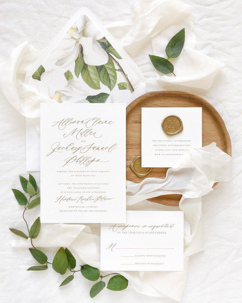 Cecile Five-Piece Suite — Empress Stationery | Wedding details card, Wedding  stationery, Wedding paper