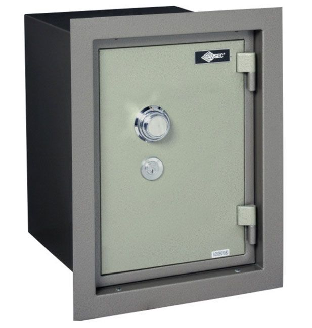 Amsec Wfs149d American Security 1 Hour Fire Resistant Wall Safe Wall Safe Fireproof Wall Safe Combination Locks