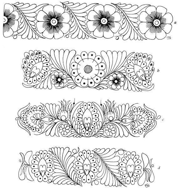 Resultado de imagen para patron bordado mexicano | bordado mexicano ...