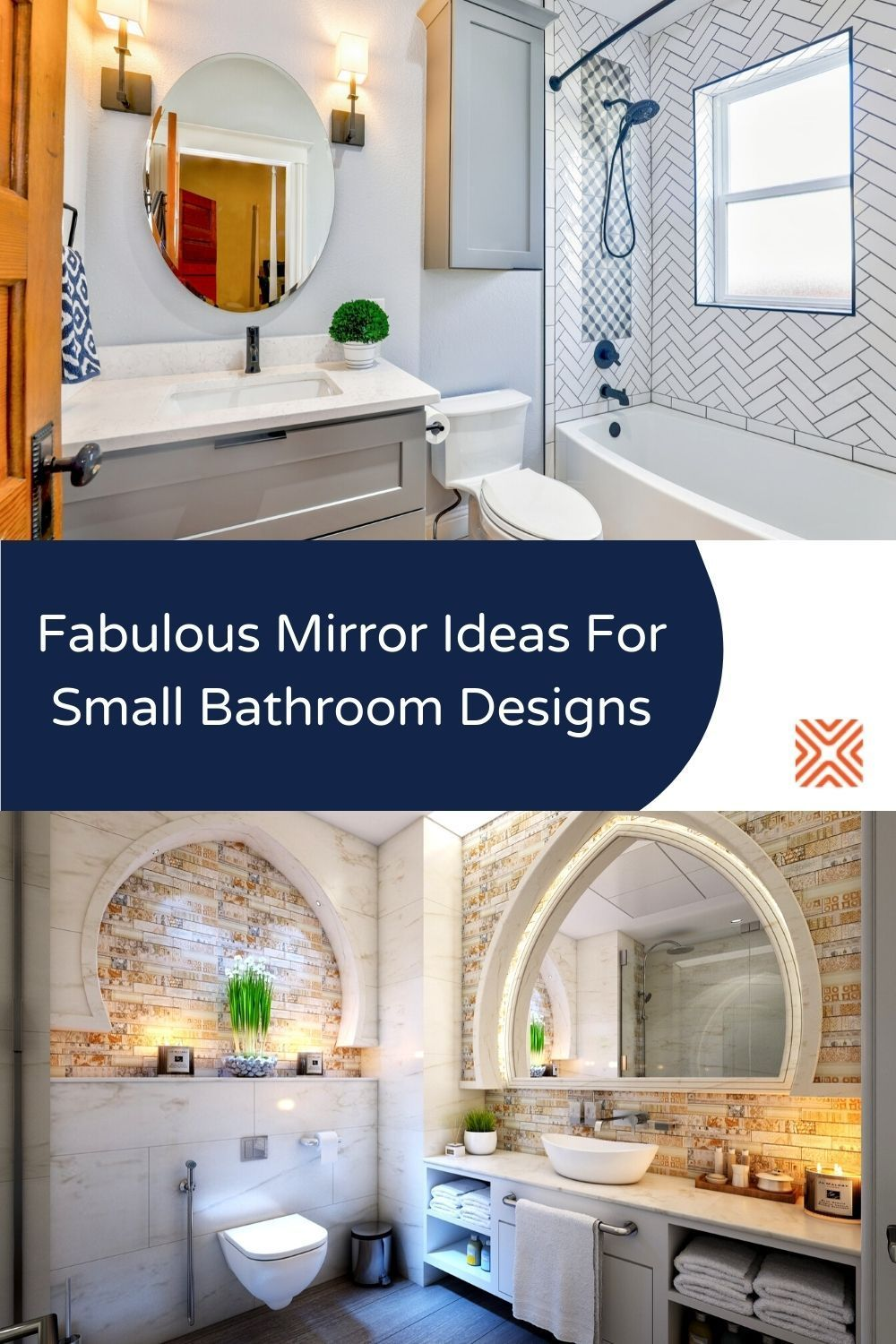 Clever Bathroom Mirror Ideas For A Small Design Layout