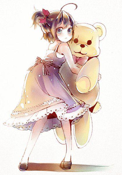 Anime Picture Original Karei Pixiv 3289464 Single Tall Image Blush Short Hair 800x1143 293391 En Anime Brown Hair Blue Eyes Short Hair Blue