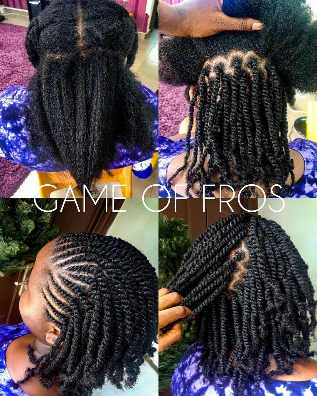 Image May Contain One Or More People Natural Hair Braids Hair Twist Styles Braids For Black Hair