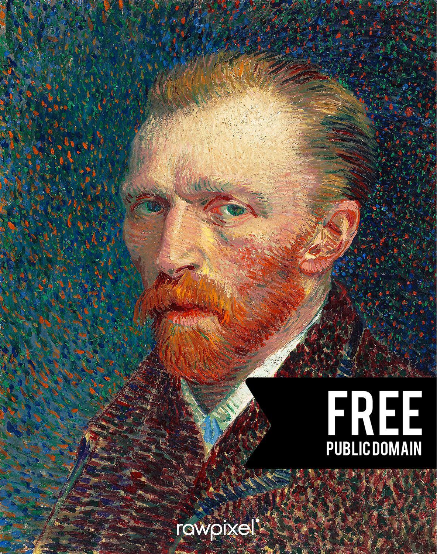 Download High Resolution Digital Images Of Vincent Van Gogh S Self