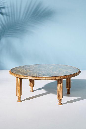 Carved Teak Coffee Table | Teak coffee table, Coffee table ...