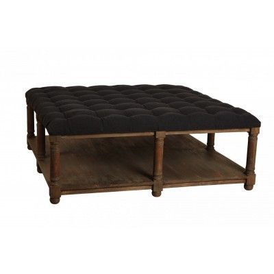 Maine Square Ottoman Coffee Table