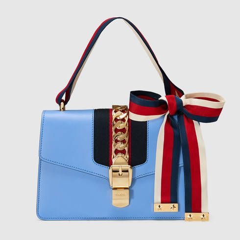 aa5a566322be GUCCI Sylvie Leather Shoulder Bag.  gucci  bags  shoulder bags  leather