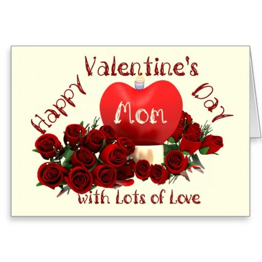 Happy valentines day mom card shop happy valentines day mom card created by personalize it with photos text or purchase as is m4hsunfo