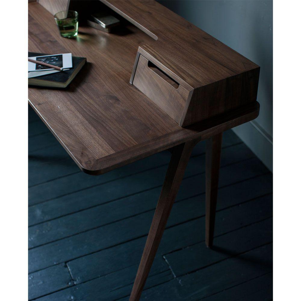 Ercol Schreibtisch Treviso Nussbaum Schreibtisch
