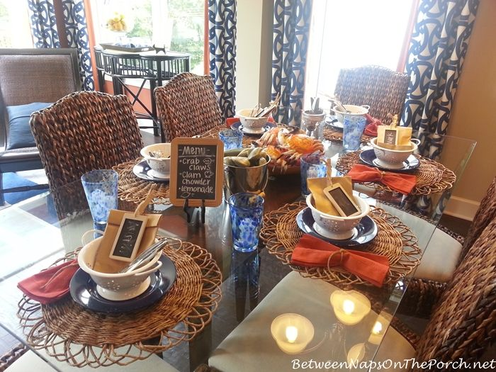 Amazing Where Did You Get That Flatware? Seafood BoilFall TablePlace SettingsTable  ...